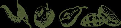 透明感の高い深緑。鼻腔をピリピリと刺激するスパイス感。青リンゴや洋ナシ、マンゴーなど、熟したフルーツの豊かな香りとともに、芝のような清涼感がある。